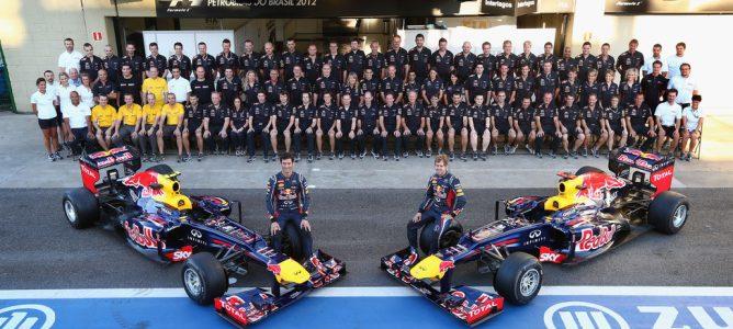 Red Bull pagará un bonus de 10.000 libras a los componentes del equipo
