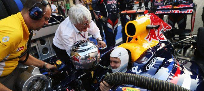 Bernie Ecclestone, apenado por la polémica de la bandera del GP de Brasil