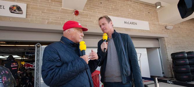 Niki Lauda con la RTL