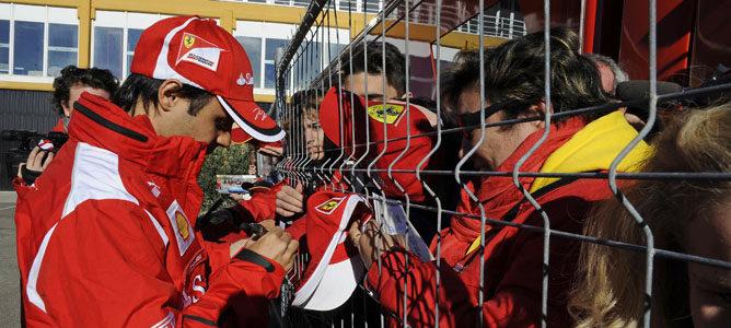 """Felipe Massa: """"En la primera mitad de año estaba preocupado por mi contrato"""""""