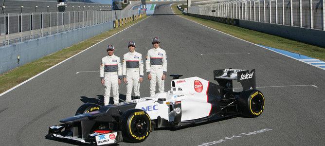 Peter Sauber se muestra confiado en el potencial del C32 y de sus pilotos