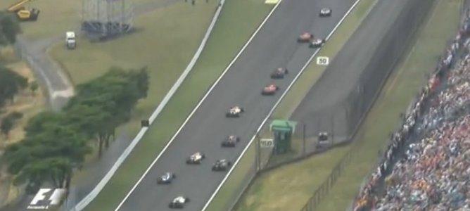 Vettel en 7a posicion
