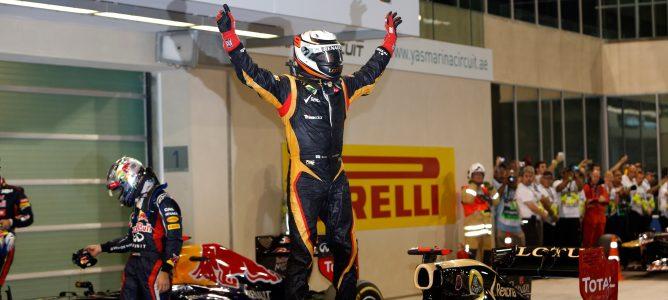 Kimi Räikkönen asegura que en Lotus importan más las carreras y menos la política de la F1