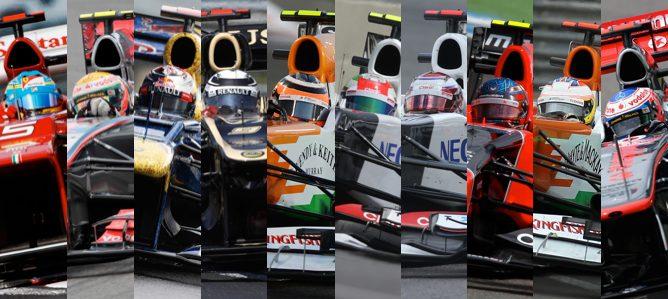 10 mejores pilotos temporada 2012 F1