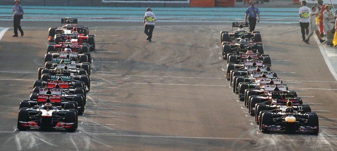 5 mejores equipos temporada 2012 F1