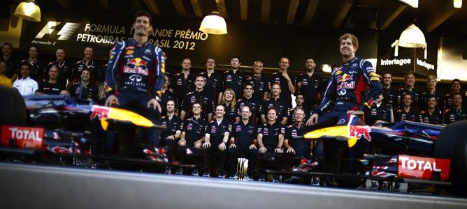 Red Bull, tricampeones del mundo de constructores