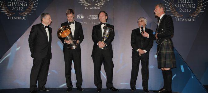 Sebastian Vettel y Red Bull hacen historia en la Gala de la FIA 2012