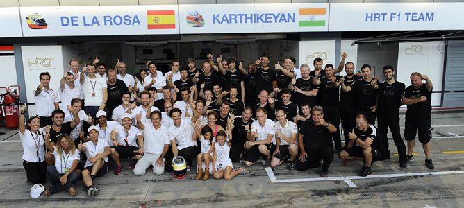 Análisis F1 2012: HRT, el canto del cisne