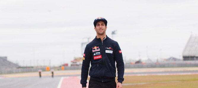 Daniel Ricciardo contento con la progresión y aprendizaje de este año