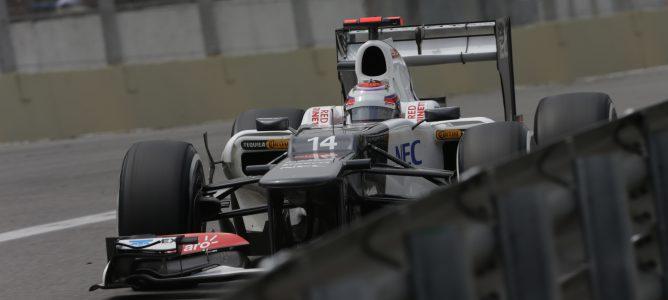 El Sauber C32 pasa todos los 'crash test' de la FIA y está listo para 2013