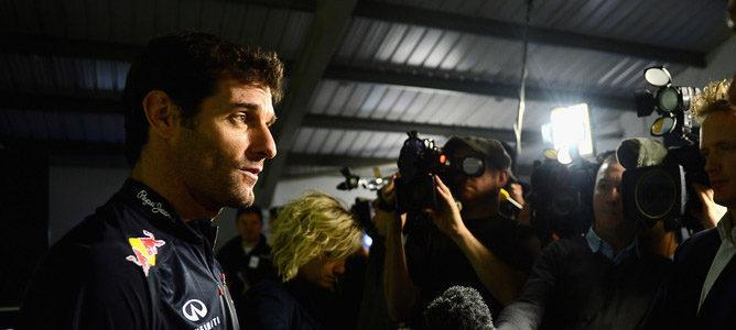 Mark Webber afirma que 20 carreras es el límite físicamente