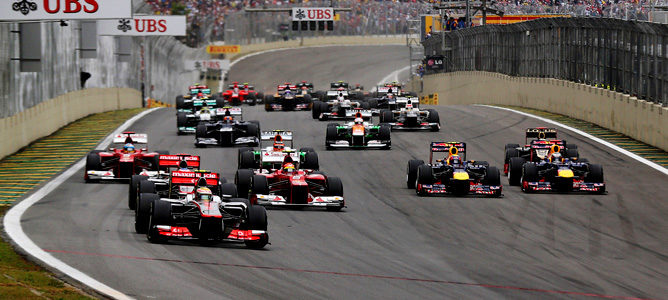 En Brasil se batió el récord de adelantamientos en una carrera de F1
