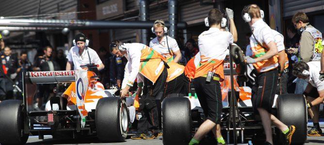 Análisis F1 2012: Force India, evolución ascendente