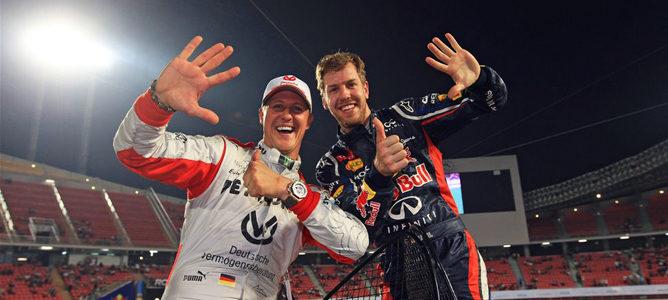 Sebastian Vettel y Michael Schumacher consiguen su sexta Carrera de Campeones para Alemania