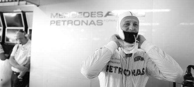 """Michael Schumacher: """"Norbert siempre ha estado en esto con pleno entusiasmo y de todo corazón"""""""