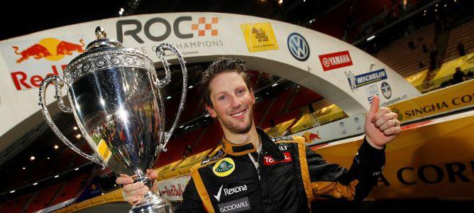 Romain Grosjean gana la Carrera de Campeones 2012