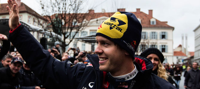 """Sebastian Vettel: """"Me sentí más cómodo con el coche en la segunda mitad de la temporada"""""""