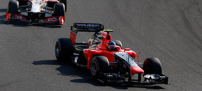 Marussia espera coger a la zona media del pelotón en 2013