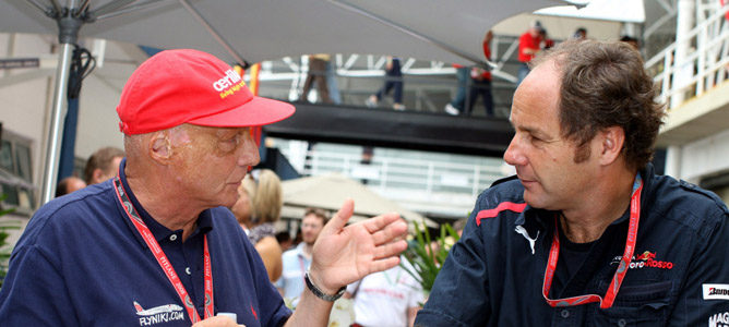 Gerhard Berger suena como candidato para reemplazar a Norbert Haug en Mercedes