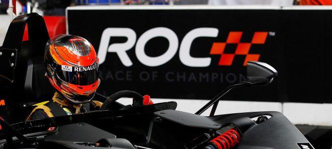 Grosjean en la ROC 2012