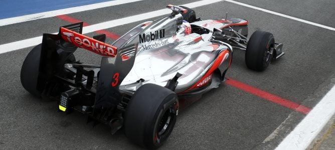Jenson Button esperaba una lucha con Lotus por los títulos de 2012