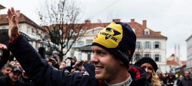 Sebastian Vettel, convencido de que todavía tiene potencial para seguir mejorando