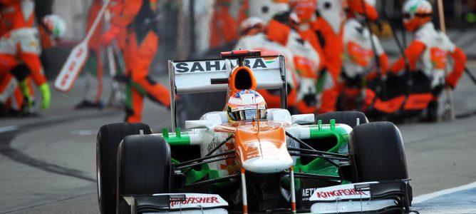 Paul di Resta está motivado para conseguir podios tras no fichar por ningún grande en 2013