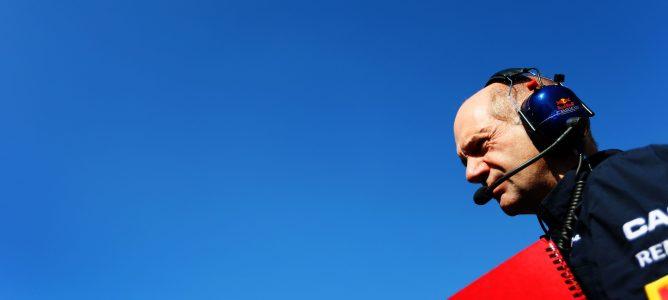 Adrian Newey cree que no hay garantías de que Red Bull comience con ventaja en 2013