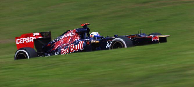 Daniel Ricciardo en Brasil
