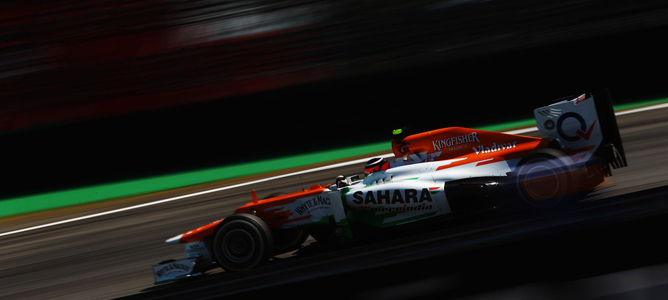 Force India estaría en negociaciones con Ferrari para montar sus motores