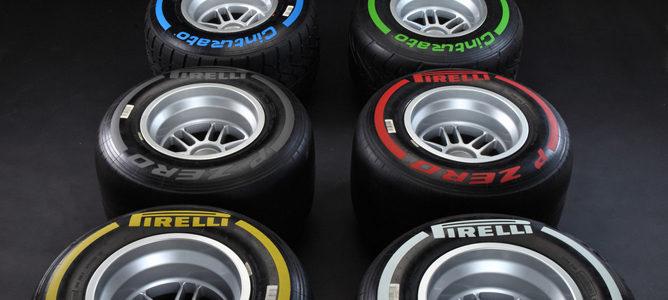 Pirelli se plantea cambiar los colores que identifica a sus neumáticos