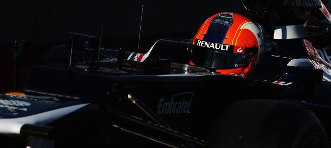 Bruno Senna con el FW34