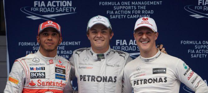 """Lewis Hamilton: """"Sería muy feliz si puedo ayudar a Mercedes a competir con los mejores"""""""
