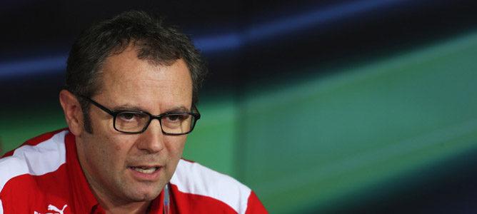 """Stefano Domenicali: """"Estamos seguros de que el túnel de viento no nos va a dar más sorpresas"""""""