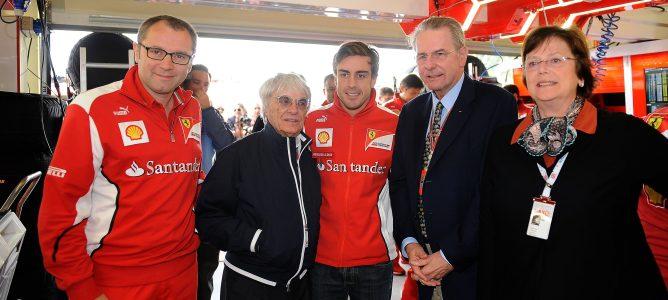"""Un tercer título de Fernando Alonso en 2013 """"no estaría nada mal"""" para Bernie Ecclestone"""