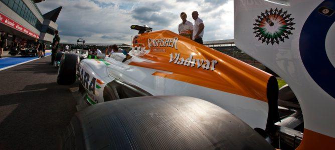 Force India llega a un acuerdo técnico con la marca '3D Solutions Corporation'
