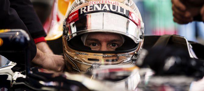 Sebastian Vettel en el RB8