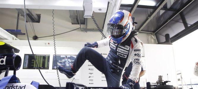 Valtteri Bottas se sube al FW34