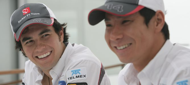 Sergio Pérez y Kamui Kobayashi