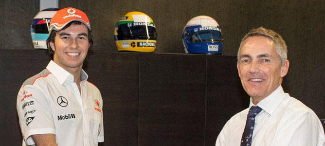 """Sergio Pérez: """"Tengo mucho que aprender de Jenson Button"""""""