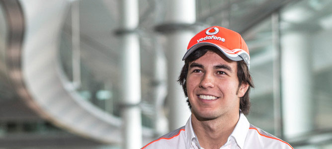 Sergio Pérez ya se ha subido al simulador de McLaren