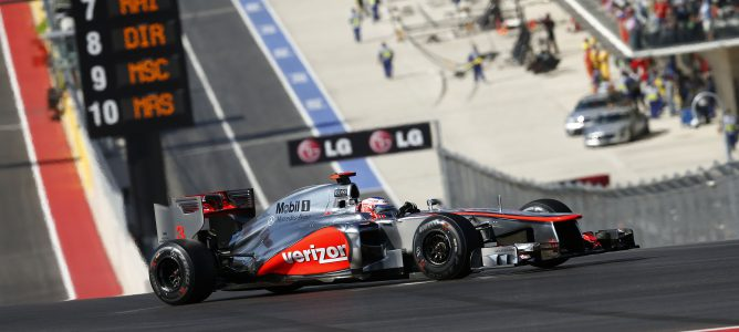 """Jackie Stewart: """"Jenson Button debe considerarse el número uno del equipo"""""""
