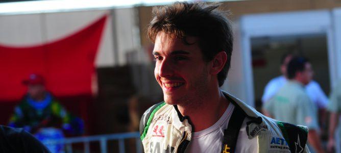 Jules Bianchi en el 'Desafio das Estrelas'