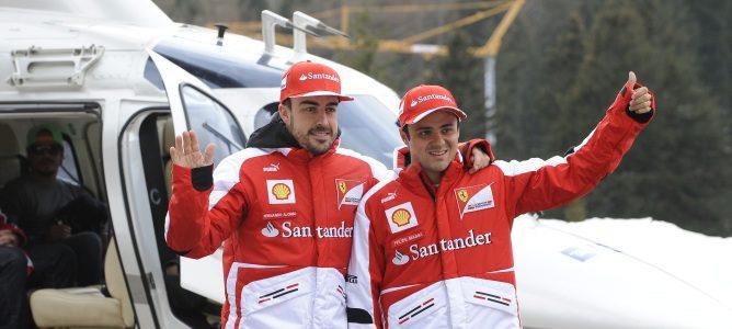 El 'Wrooom 2013' arranca en Madonna di Campiglio con Fernando Alonso y Felipe Massa