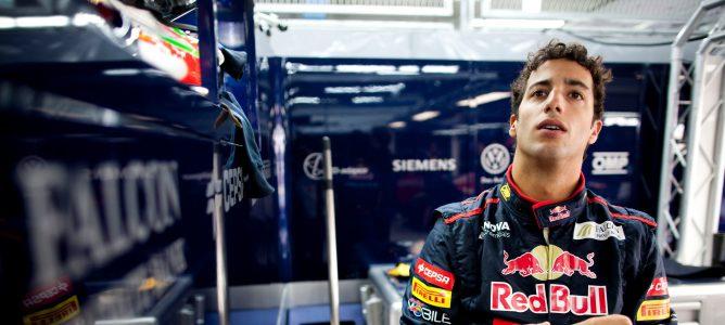 Daniel Ricciardo afirma que Toro Rosso tiene muchas expectativas de cara a 2013