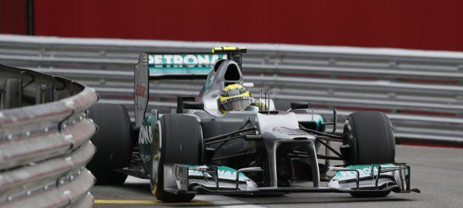 Nico Rosberg con el W03