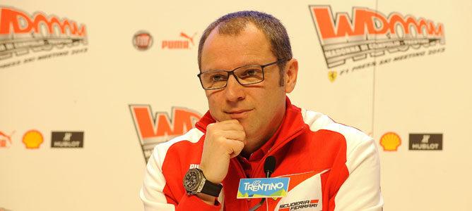 """Stefano Domenicali: """"Espero ver una mayor eficiencia de desarrollo con respecto a 2012"""""""