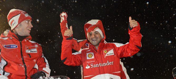 Felipe Massa en el 'Wrooom 2013'
