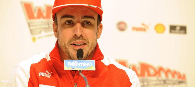 Alonso habla de sus rivales