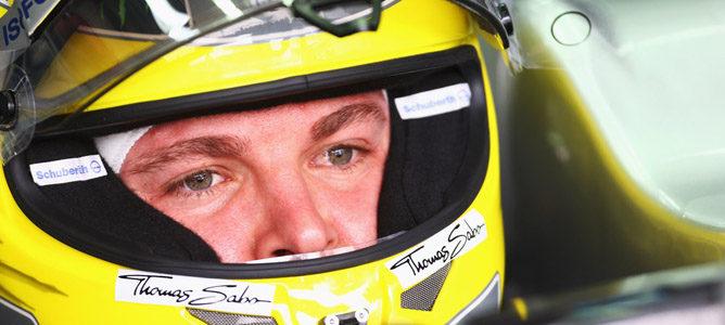 Nico Rosberg será el encargado de realizar los primeros kilómetros del W04